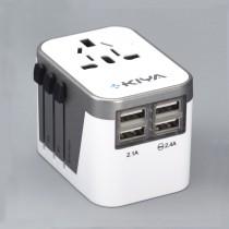 KIYA 4USB 國際旅行電源轉接器插座
