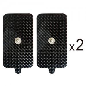 5x9cm 扣式傳導貼片/ 1袋4片入